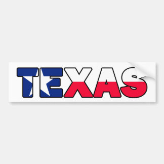 Autocollant De Voiture Adhésif pour pare-chocs du Texas
