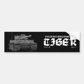 Autocollant De Voiture Adhésif pour pare-chocs du tigre I