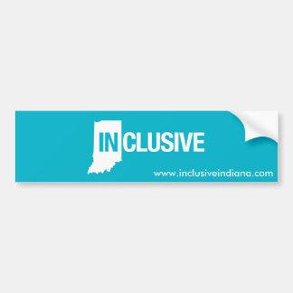 Autocollant De Voiture Adhésif pour pare-chocs inclus de l'Indiana