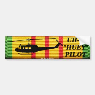 Autocollant De Voiture Adhésif pour pare-chocs pilote de ruban d'UH-1