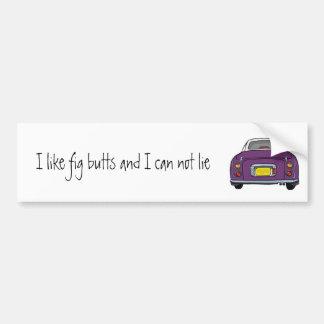 Autocollant De Voiture Adhésif pour pare-chocs pourpre foncé de voiture
