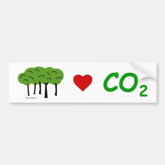 Autocollant De Voiture Adhésif pour pare-chocs Pro-CO2