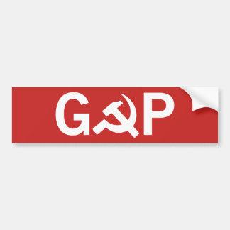 Autocollant De Voiture Adhésif pour pare-chocs russe de GOP