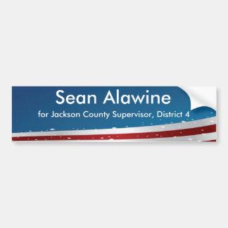 Autocollant De Voiture Adhésif pour pare-chocs soutenant Sean Alawine