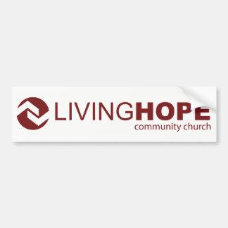 Autocollant De Voiture Adhésif pour pare-chocs vivant d'espoir