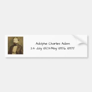 Autocollant De Voiture Adolphe Charles Adam, 1855