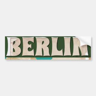 Autocollant De Voiture Affiche vintage de voyage de Berlin