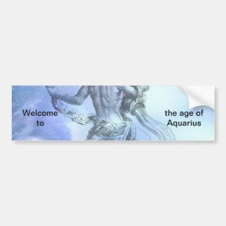 Autocollant De Voiture Âge de zodiaque de Verseau