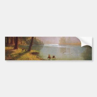 Autocollant De Voiture Albert Bierstadt, Kerns River Valley la Californie