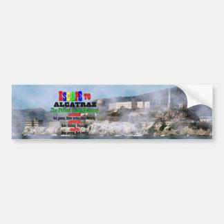 Autocollant De Voiture Alcatraz
