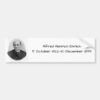 Autocollant De Voiture Alfred Heinrich Ehrlich