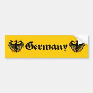 Autocollant De Voiture Allemand Eagle Allemagne