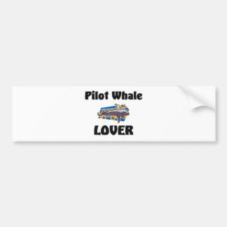 Autocollant De Voiture Amant de baleine pilote