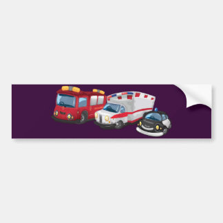 Autocollant De Voiture Ambulance