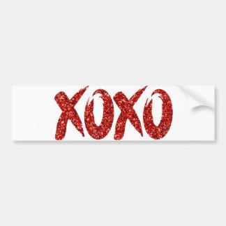 Autocollant De Voiture Amusement rouge de traçage de jour de Valentines