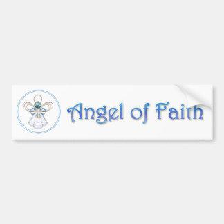 Autocollant De Voiture Ange de Noël de la foi
