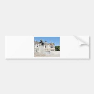 Autocollant De Voiture Architecture à Vienne, Autriche