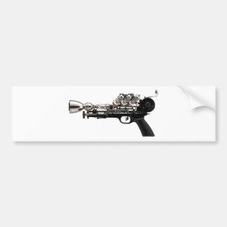 Autocollant De Voiture Arme à feu de Steampunk