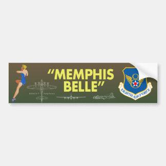 """Autocollant De Voiture Armée de l'Air """"de belle de Memphis la 8ème"""""""