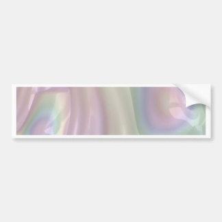 Autocollant De Voiture Art abstrait en pastel de l'arc-en-ciel 3D
