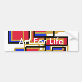 Autocollant De Voiture Art pour l'adhésif pour pare-chocs de la vie