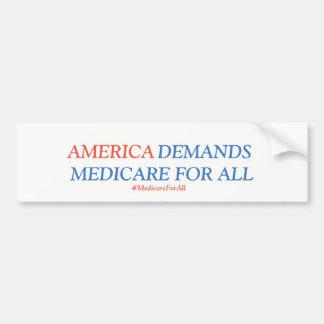 Autocollant De Voiture Assurance-maladie pour tous les Américains