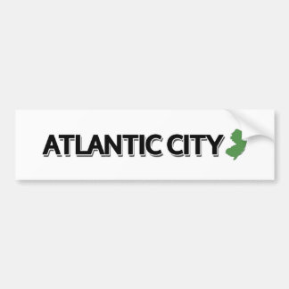 Autocollant De Voiture Atlantic City, New Jersey
