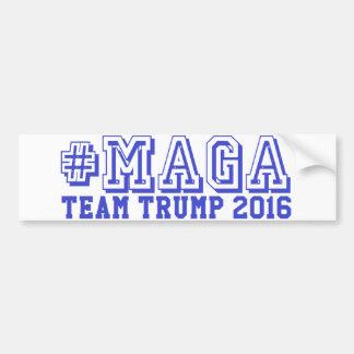 Autocollant De Voiture ATOUT d'ÉQUIPE de #MAGA Donald Trump 2016 Pinback