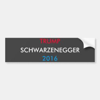 Autocollant De Voiture Atout Schwarzenegger pour le président 2016