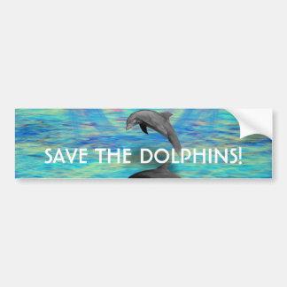 Autocollant De Voiture Augmentation de dauphin