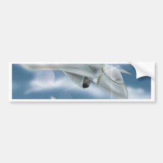 Autocollant De Voiture Avions de chasseur à réaction