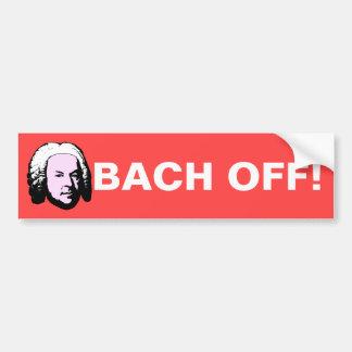 Autocollant De Voiture Bach