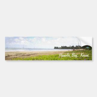 Autocollant De Voiture Baie de Hanalei, copie de Kauai Hawaii Limited