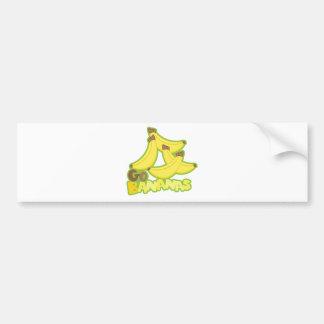 Autocollant De Voiture Banane