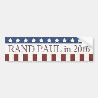 Autocollant De Voiture Bannière étoilée de Paul 2016 de couche-point
