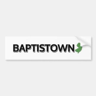 Autocollant De Voiture Baptistown, New Jersey