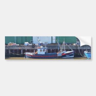Autocollant De Voiture Bateau de pêche YH15 réalisable