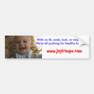 Autocollant De Voiture Bébés en bonne santé