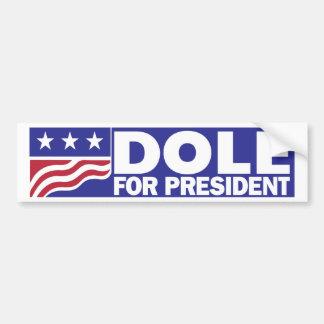 Autocollant De Voiture Bob Dole 1996 pour le président