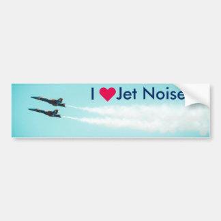 Autocollant De Voiture Bruit de jet du ♥ I - anges bleus
