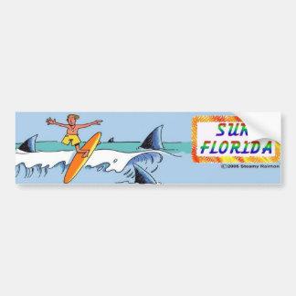 Autocollant De Voiture Bumpersticker de la Floride de surf