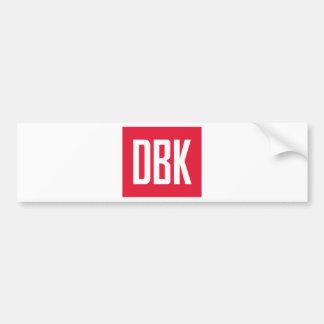 Autocollant De Voiture Butin de DBK