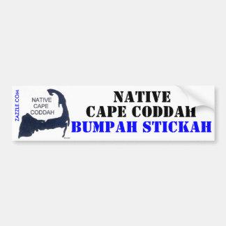Autocollant De Voiture Cap indigène Coddah Bumpah Stickah