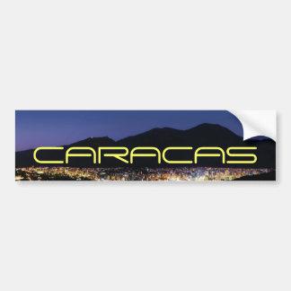 Autocollant De Voiture Caracas par nuit