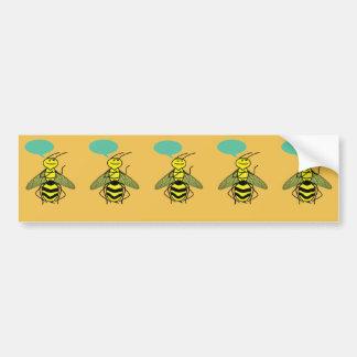 Autocollant De Voiture Ce que l'abeille de miel a indiqué
