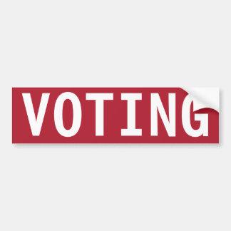 AUTOCOLLANT DE VOITURE CESSEZ LE VOTE