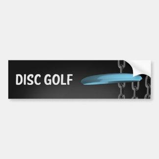 Autocollant De Voiture Chaînes de golf de disque