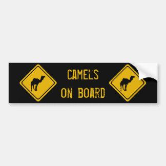 Autocollant De Voiture chameaux de 10 prochains kilomètres