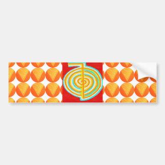 Autocollant De Voiture CHOKURAY : Symbole curatif de Reiki de RAYON de