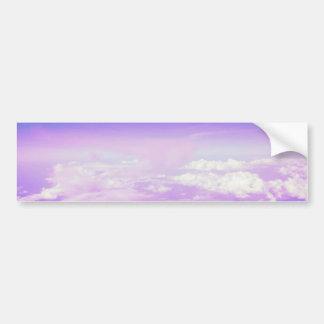 Autocollant De Voiture Ciel en pastel doux sucré